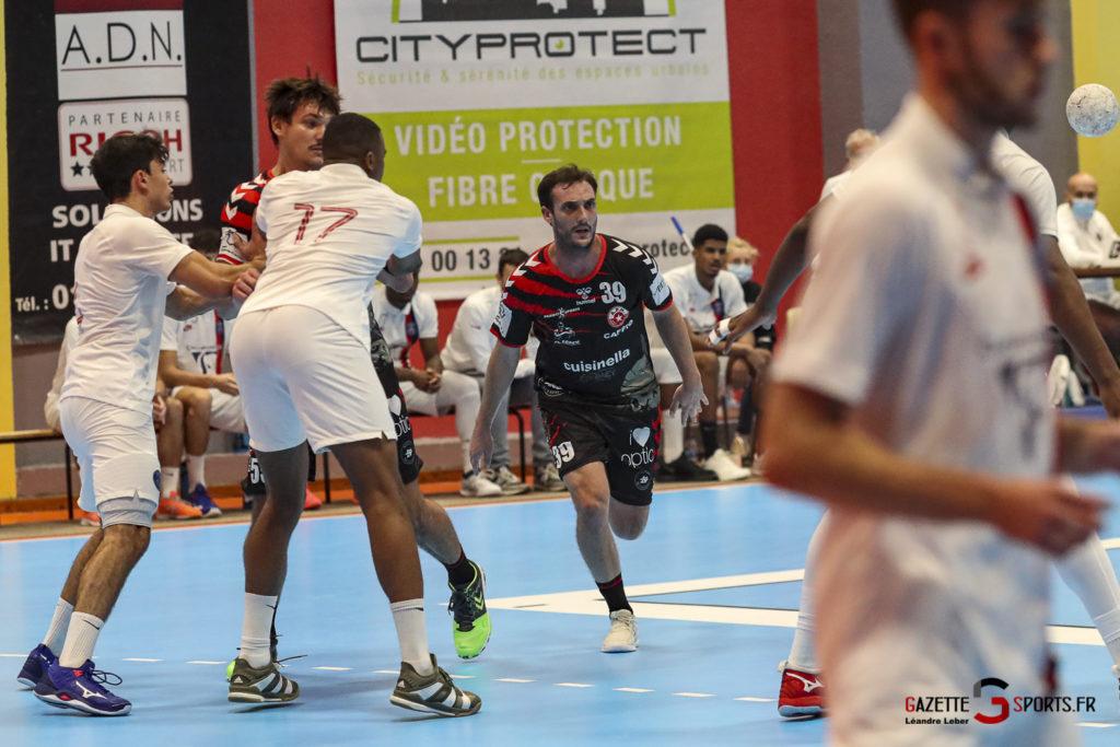 Handball Amiens Aph Vs Psg B 0032 Leandre Leber Gazettesports