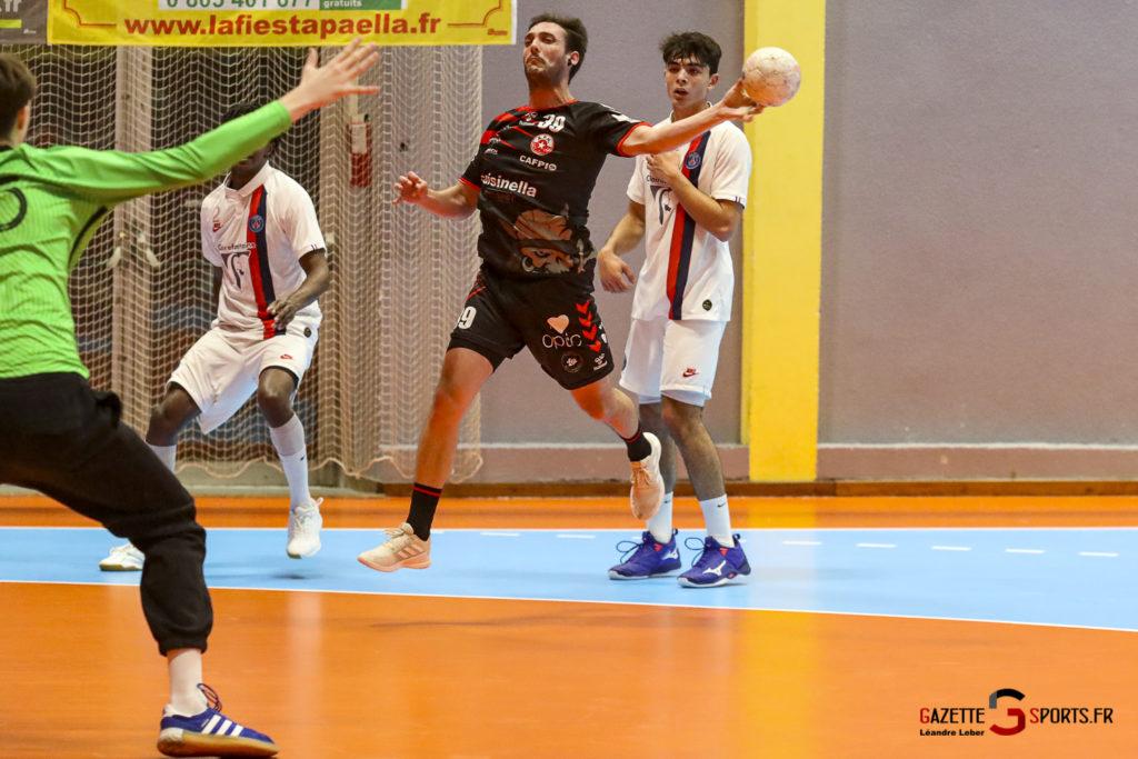 Handball Amiens Aph Vs Psg B 0033 Leandre Leber Gazettesports
