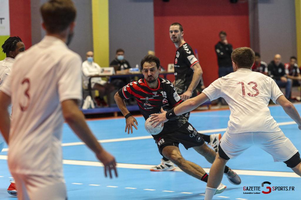 Handball Amiens Aph Vs Psg B 0034 Leandre Leber Gazettesports