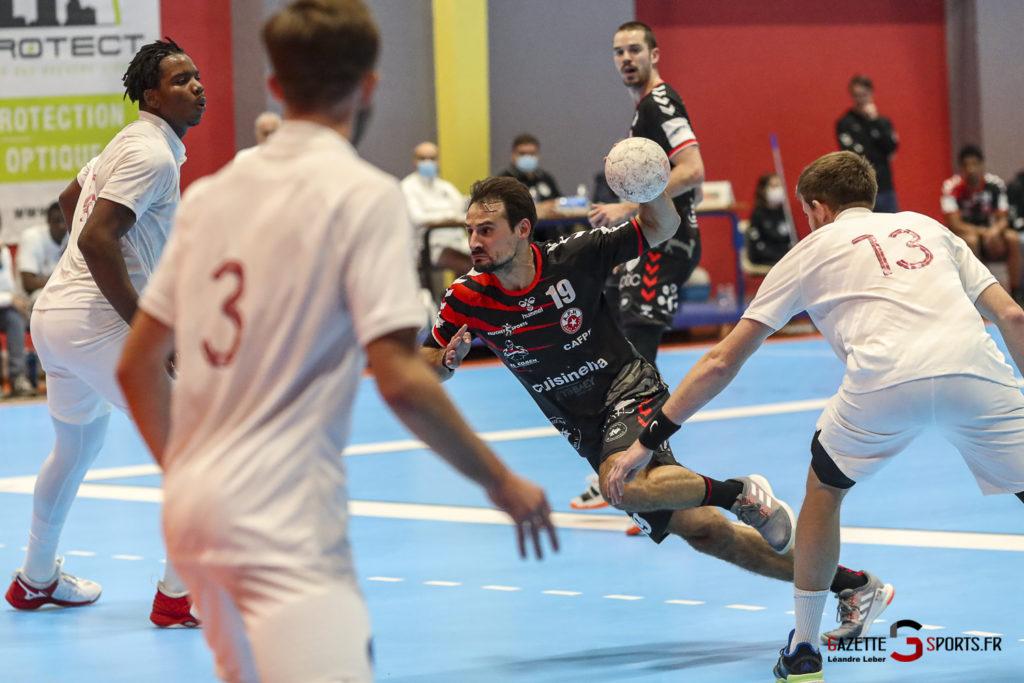 Handball Amiens Aph Vs Psg B 0035 Leandre Leber Gazettesports