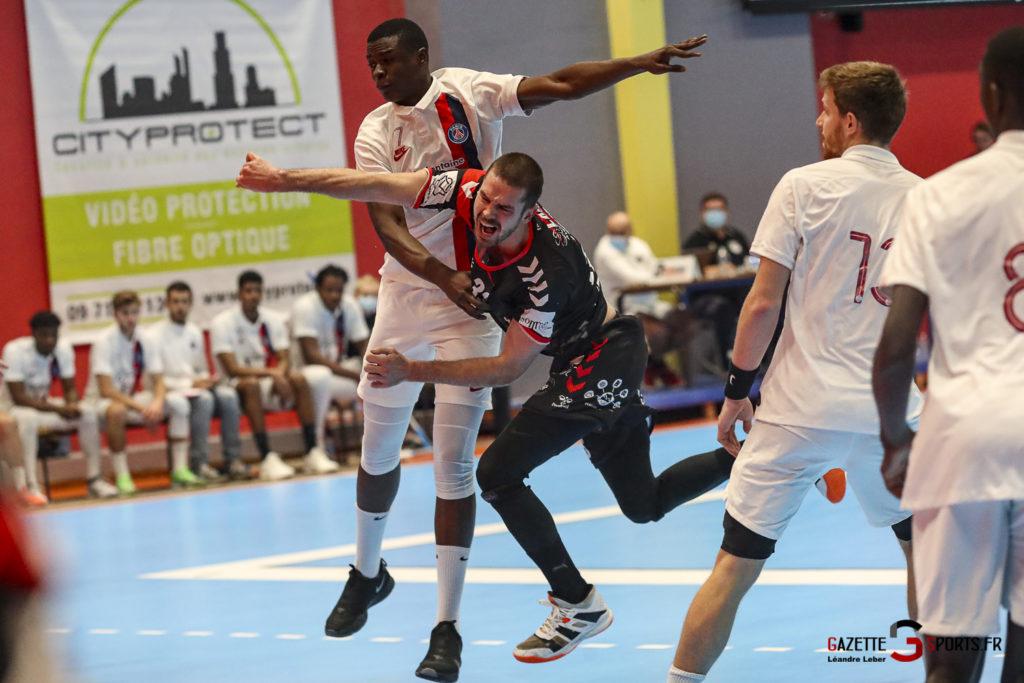 Handball Amiens Aph Vs Psg B 0036 Leandre Leber Gazettesports