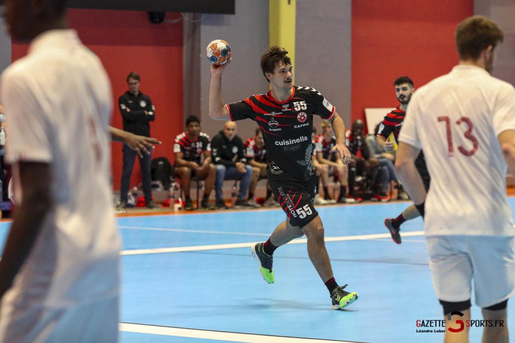Handball Amiens Aph Vs Psg B 0037 Leandre Leber Gazettesports