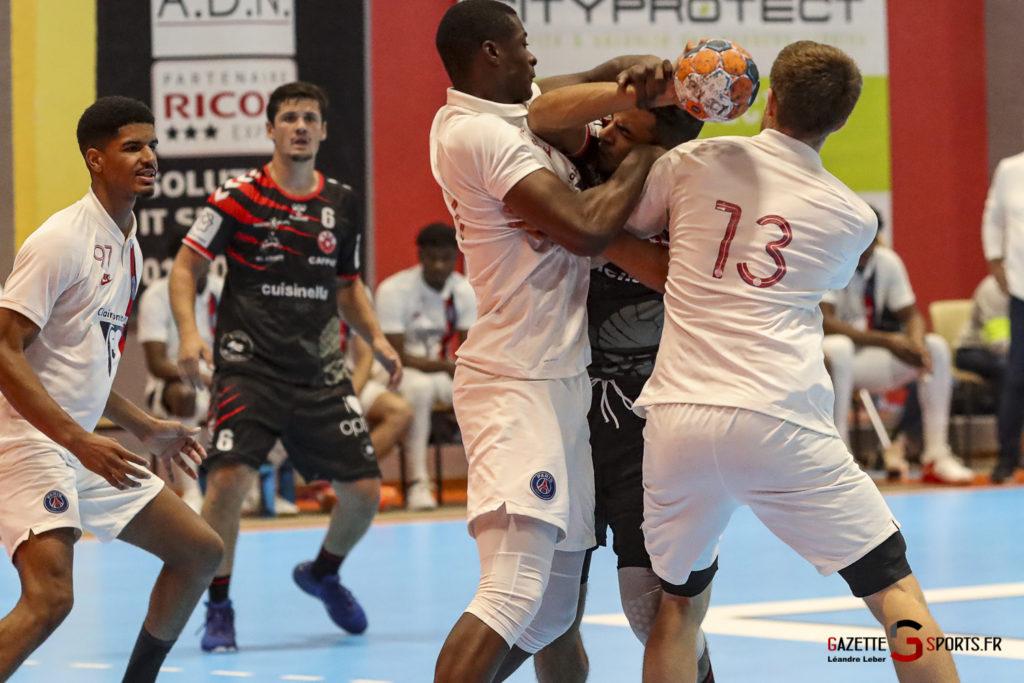 Handball Amiens Aph Vs Psg B 0038 Leandre Leber Gazettesports