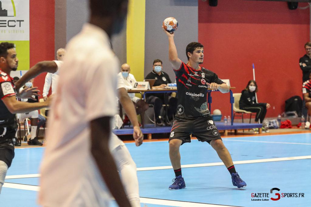 Handball Amiens Aph Vs Psg B 0040 Leandre Leber Gazettesports