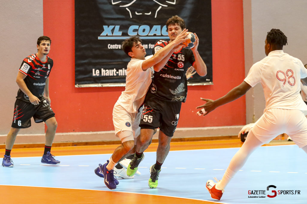 Handball Amiens Aph Vs Psg B 0041 Leandre Leber Gazettesports