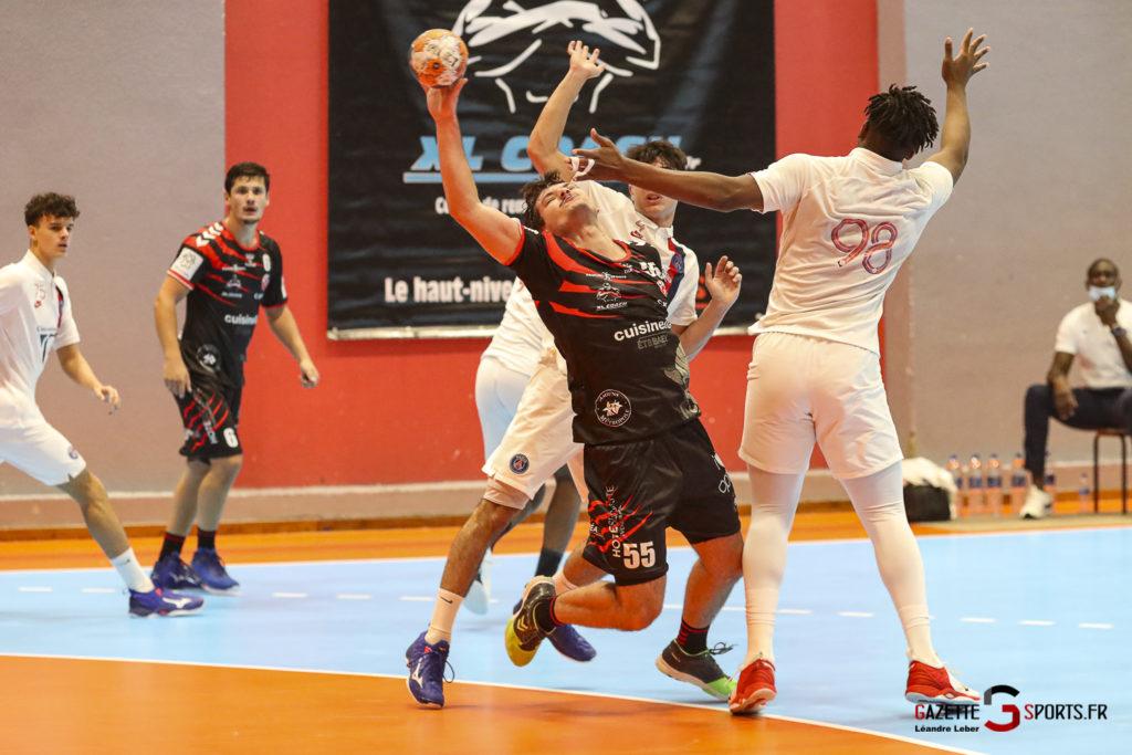 Handball Amiens Aph Vs Psg B 0042 Leandre Leber Gazettesports