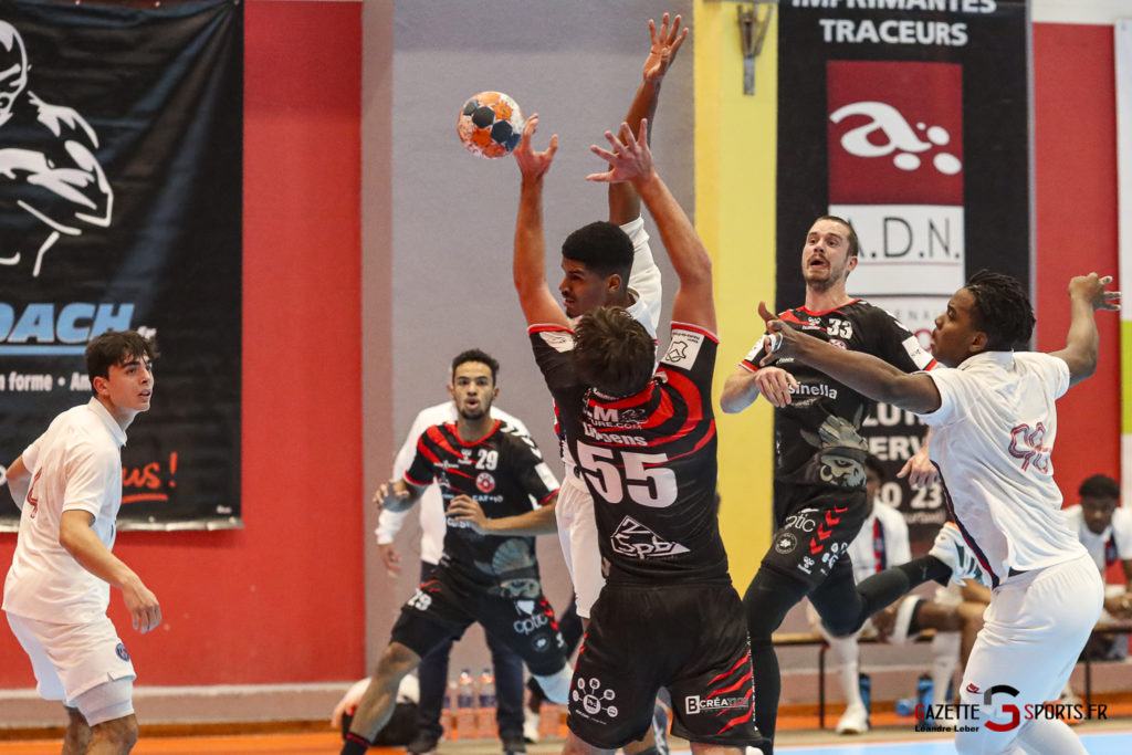 Handball Amiens Aph Vs Psg B 0043 Leandre Leber Gazettesports