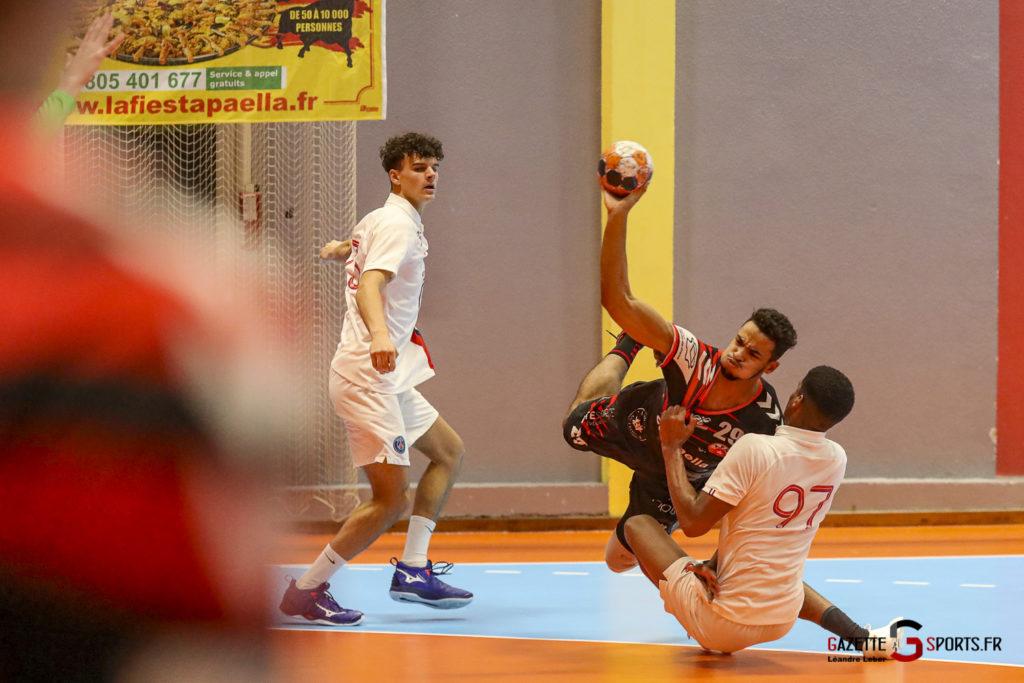 Handball Amiens Aph Vs Psg B 0044 Leandre Leber Gazettesports