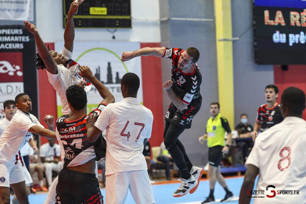 Handball Amiens Aph Vs Psg B 0045 Leandre Leber Gazettesports