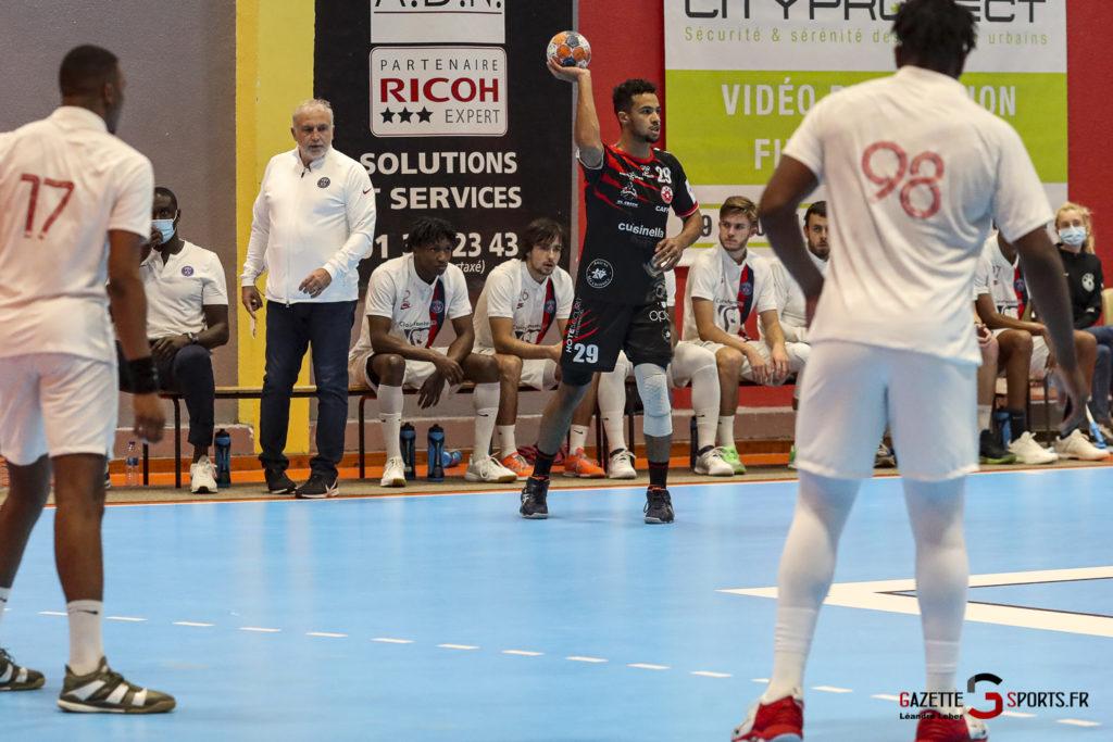 Handball Amiens Aph Vs Psg B 0046 Leandre Leber Gazettesports