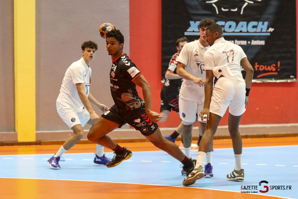 Handball Amiens Aph Vs Psg B 0047 Leandre Leber Gazettesports