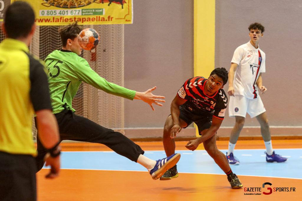 Handball Amiens Aph Vs Psg B 0048 Leandre Leber Gazettesports