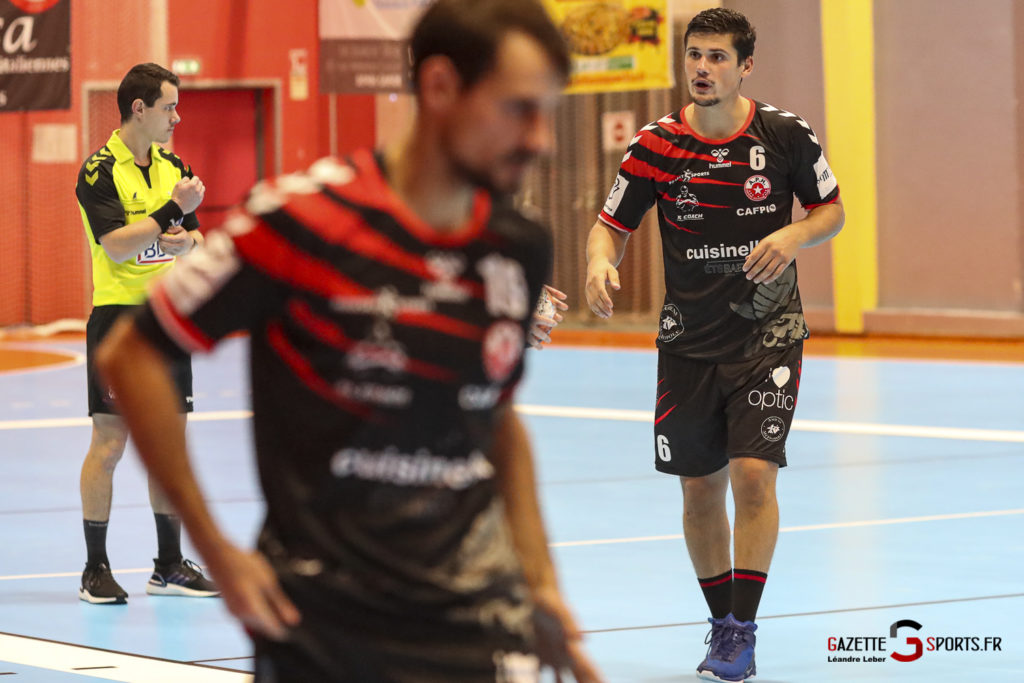 Handball Amiens Aph Vs Psg B 0049 Leandre Leber Gazettesports