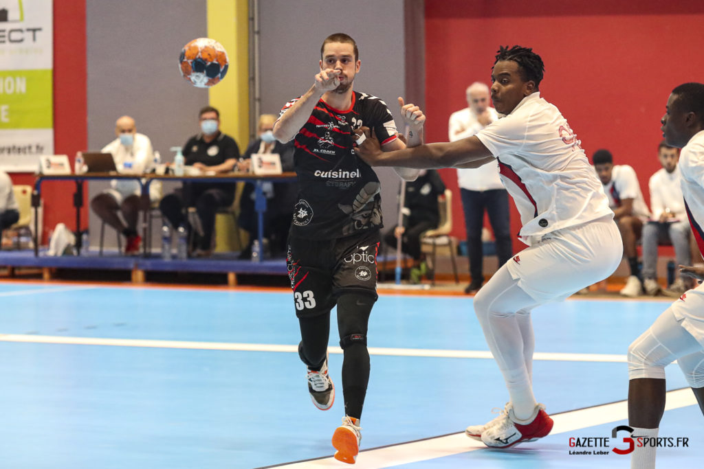 Handball Amiens Aph Vs Psg B 0050 Leandre Leber Gazettesports