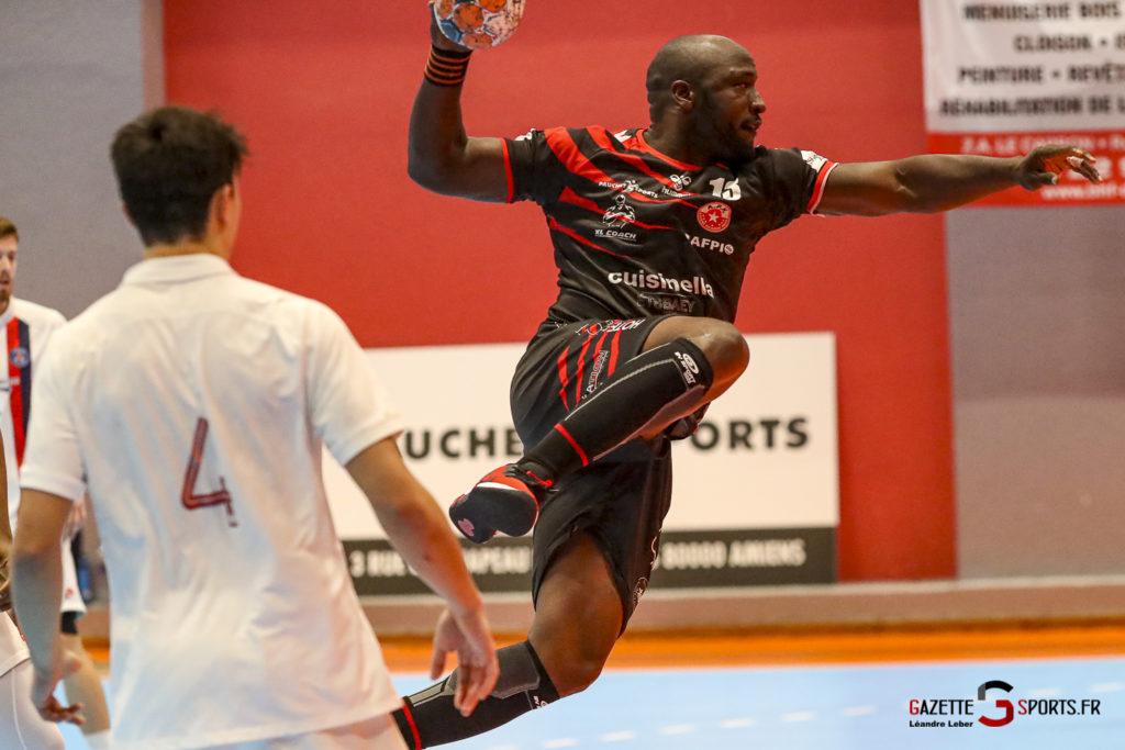 Handball Amiens Aph Vs Psg B 0051 Leandre Leber Gazettesports