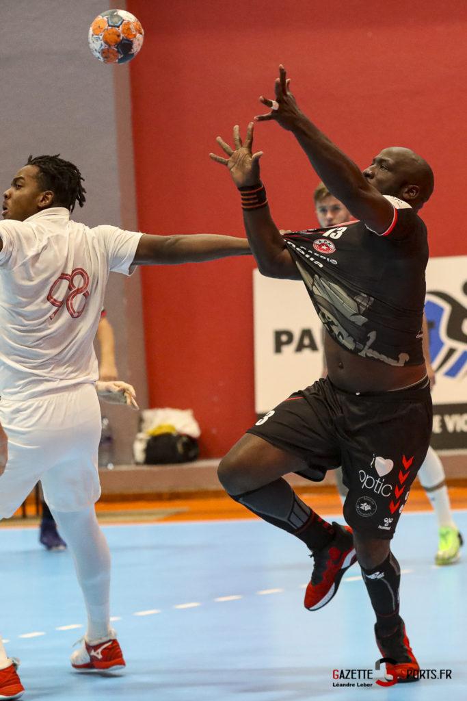 Handball Amiens Aph Vs Psg B 0052 Leandre Leber Gazettesports