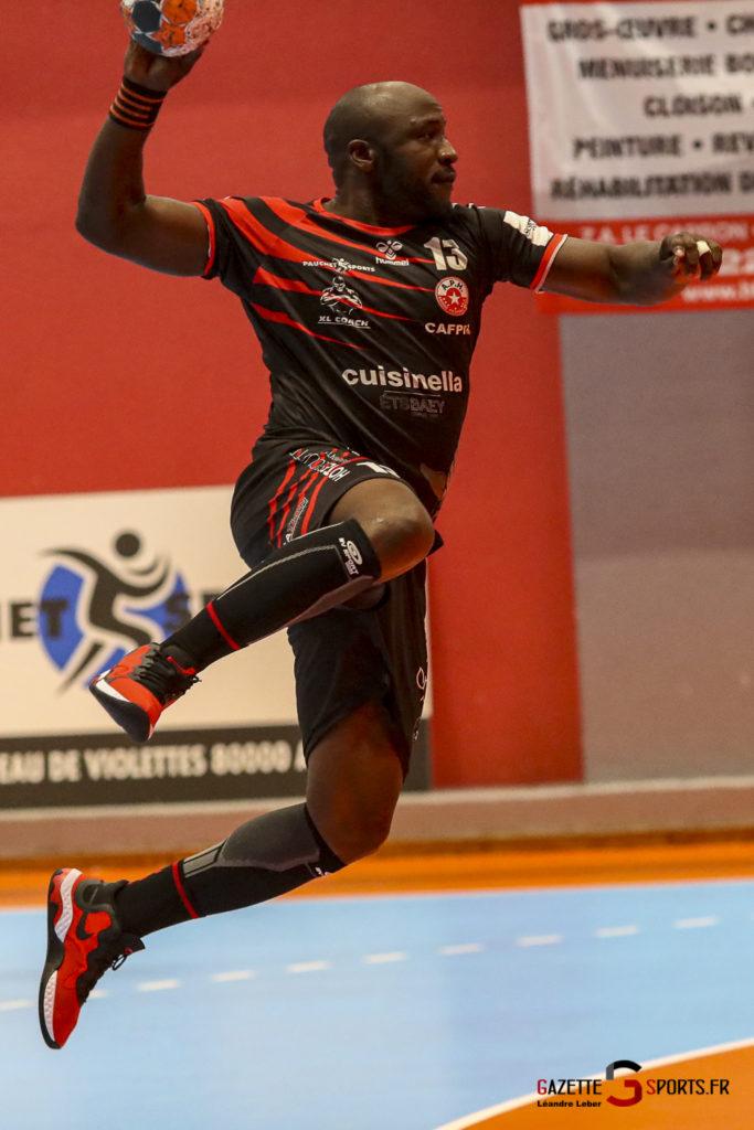 Handball Amiens Aph Vs Psg B 0053 Leandre Leber Gazettesports
