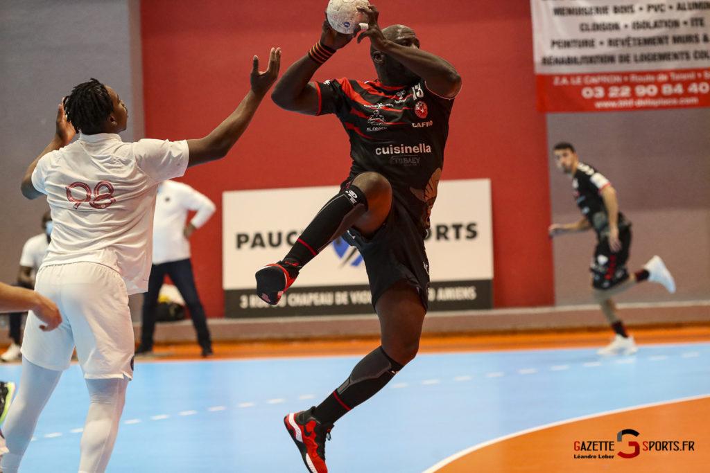 Handball Amiens Aph Vs Psg B 0054 Leandre Leber Gazettesports