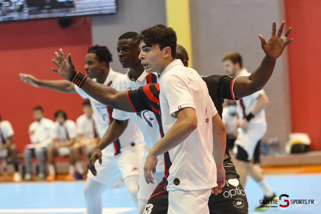 Handball Amiens Aph Vs Psg B 0055 Leandre Leber Gazettesports
