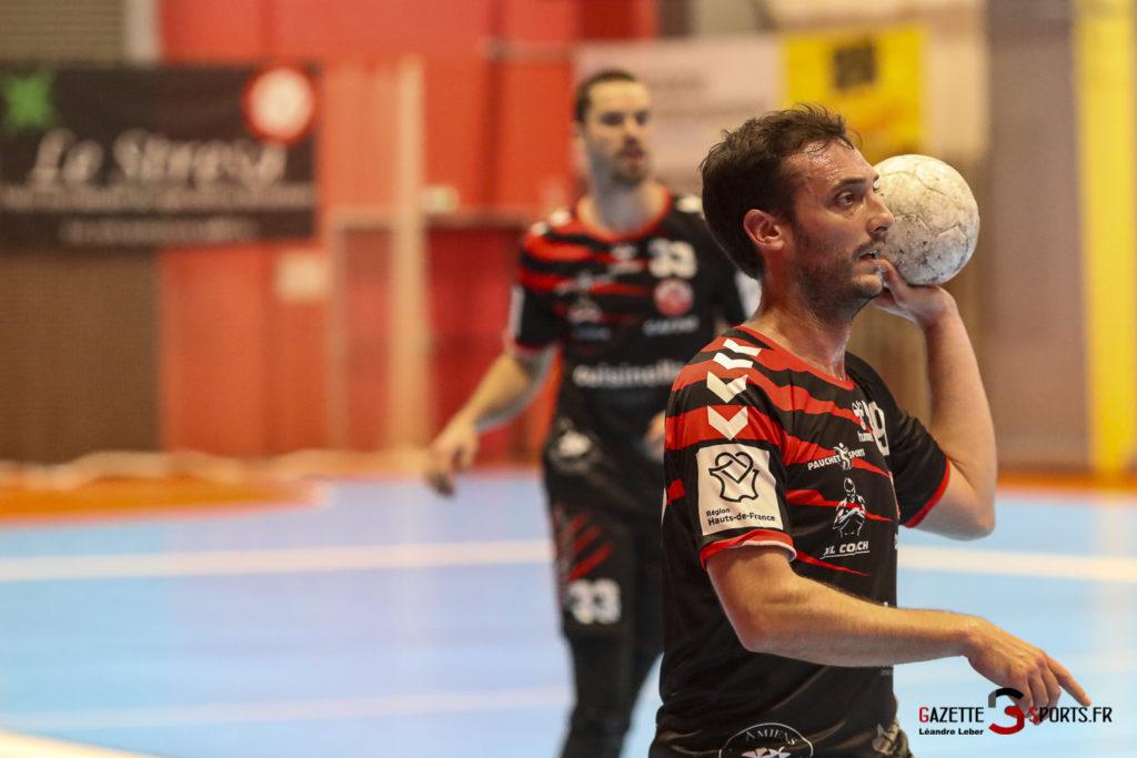 Handball Amiens Aph Vs Psg B 0056 Leandre Leber Gazettesports