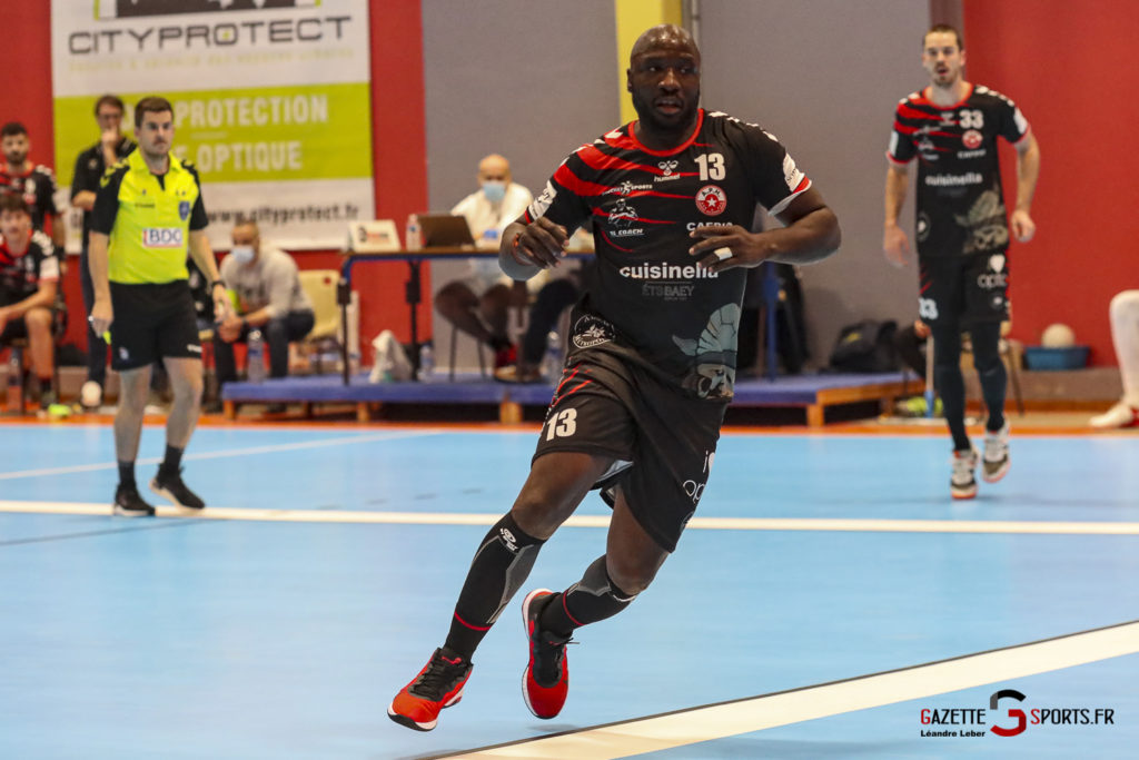Handball Amiens Aph Vs Psg B 0057 Leandre Leber Gazettesports
