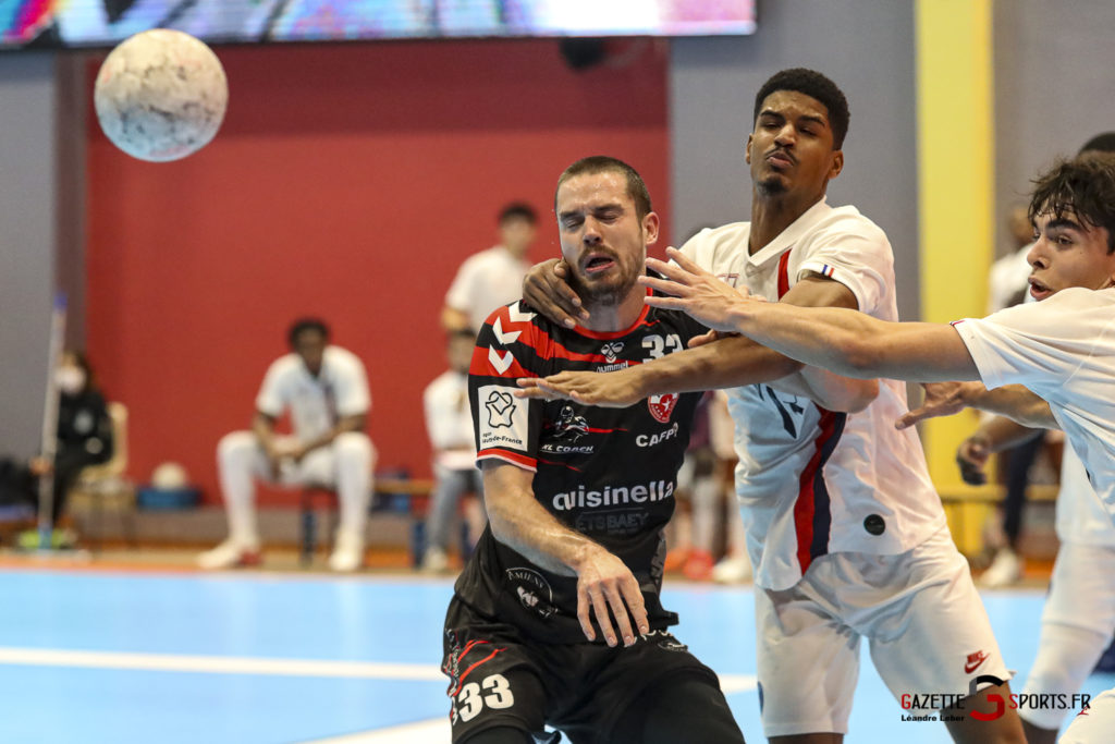 Handball Amiens Aph Vs Psg B 0058 Leandre Leber Gazettesports