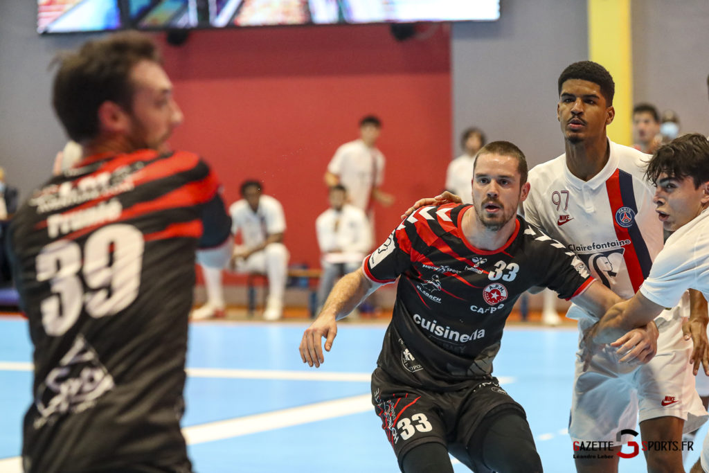 Handball Amiens Aph Vs Psg B 0059 Leandre Leber Gazettesports