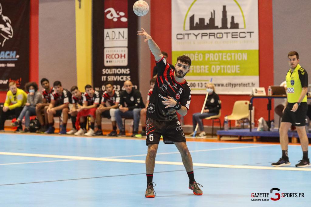 Handball Amiens Aph Vs Psg B 0060 Leandre Leber Gazettesports