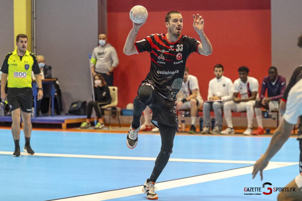 Handball Amiens Aph Vs Psg B 0061 Leandre Leber Gazettesports