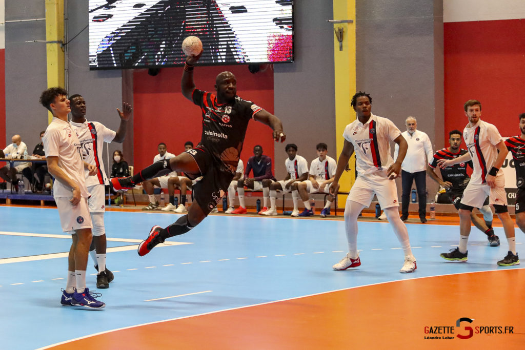 Handball Amiens Aph Vs Psg B 0062 Leandre Leber Gazettesports