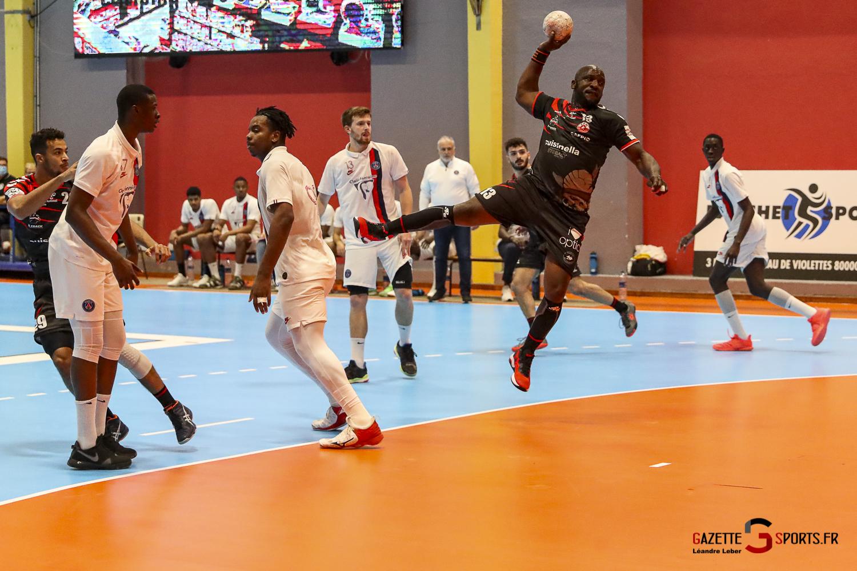 Handball Amiens Aph Vs Psg B 0063 Leandre Leber Gazettesports