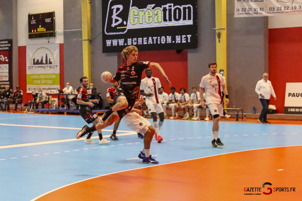 Handball Amiens Aph Vs Psg B 0065 Leandre Leber Gazettesports