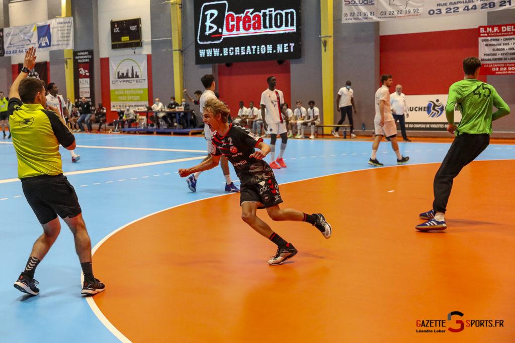 Handball Amiens Aph Vs Psg B 0066 Leandre Leber Gazettesports