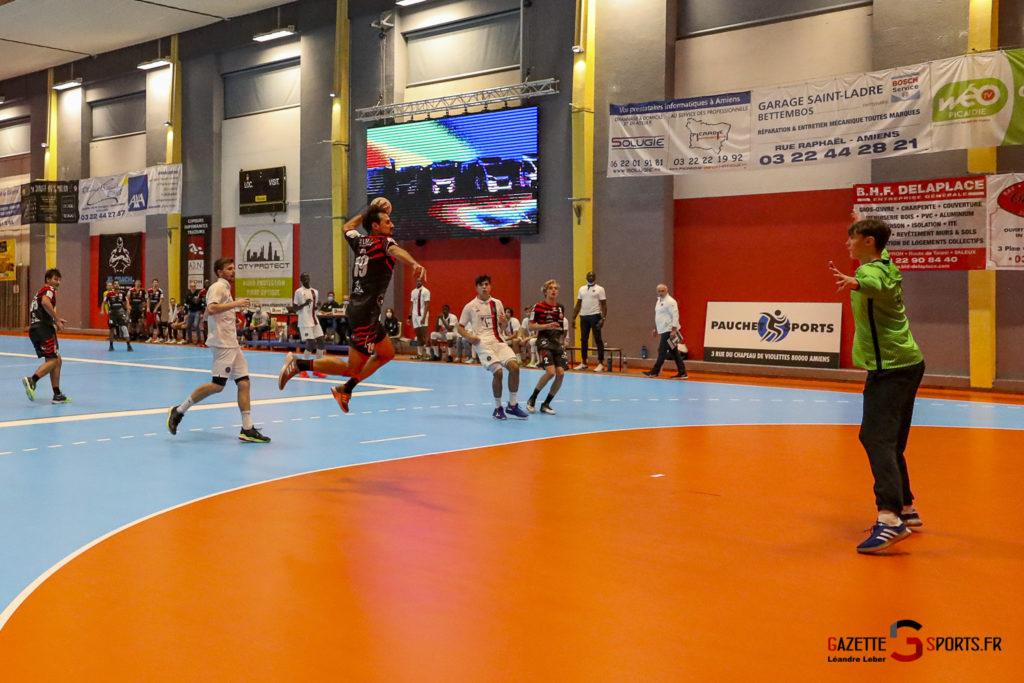 Handball Amiens Aph Vs Psg B 0067 Leandre Leber Gazettesports