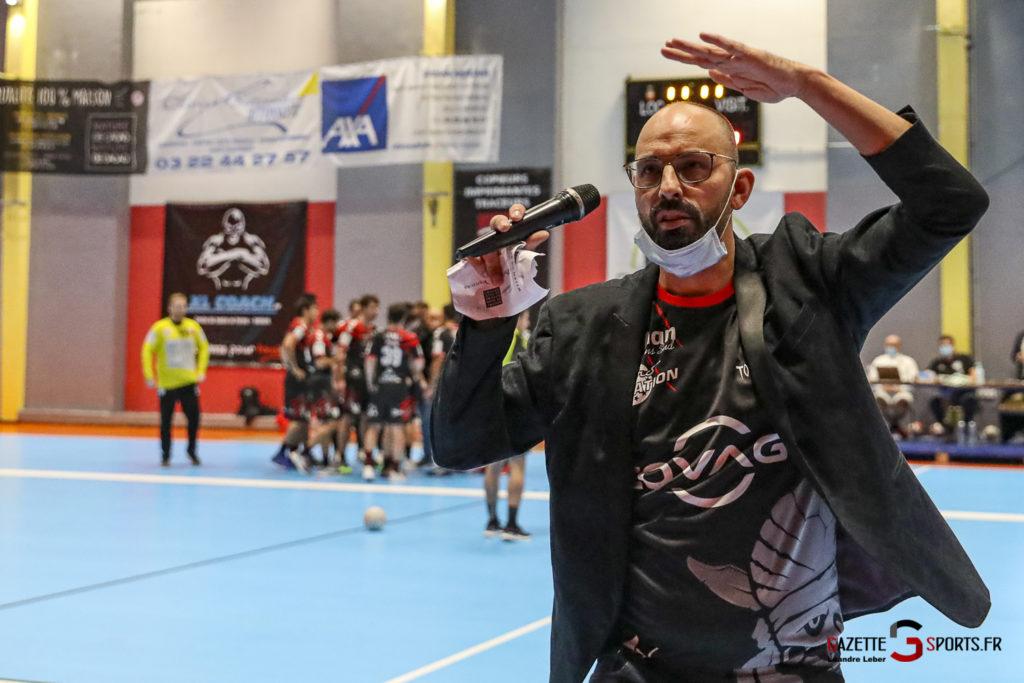 Handball Amiens Aph Vs Psg B 0069 Leandre Leber Gazettesports