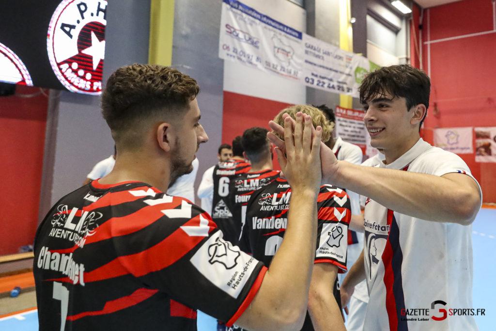 Handball Amiens Aph Vs Psg B 0070 Leandre Leber Gazettesports