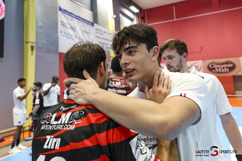 Handball Amiens Aph Vs Psg B 0071 Leandre Leber Gazettesports