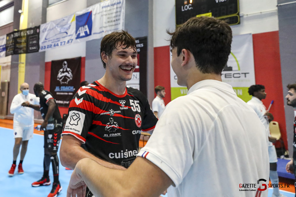 Handball Amiens Aph Vs Psg B 0072 Leandre Leber Gazettesports