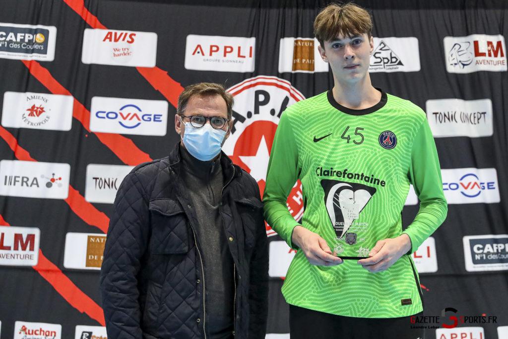 Handball Amiens Aph Vs Psg B 0073 Leandre Leber Gazettesports