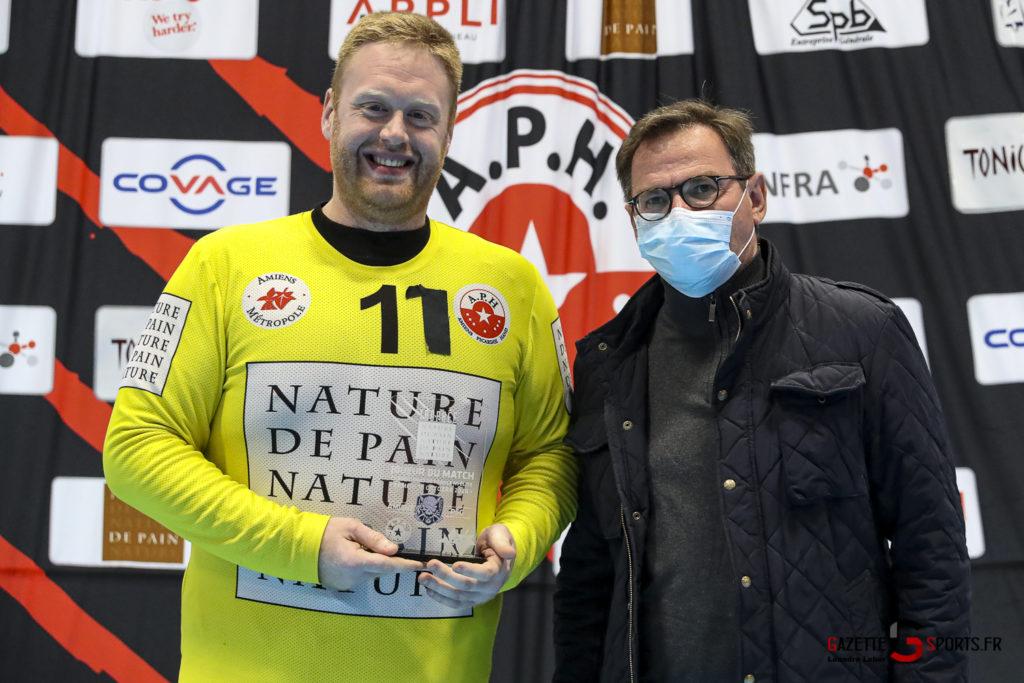 Handball Amiens Aph Vs Psg B 0074 Leandre Leber Gazettesports