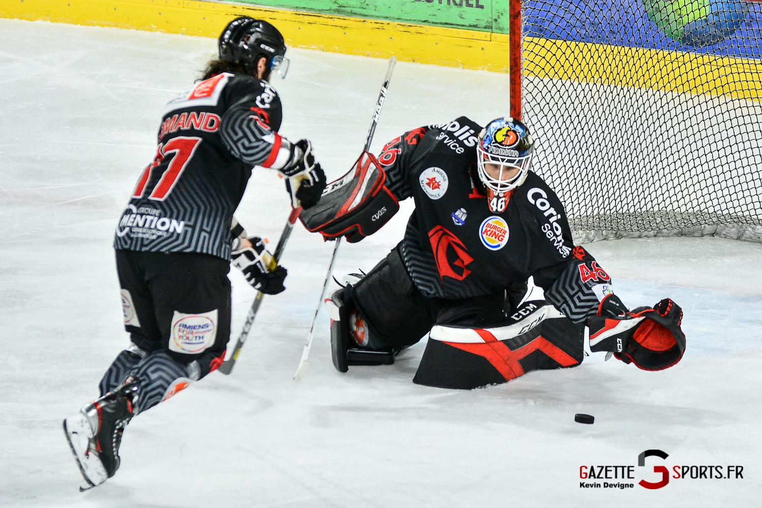 Hockey Sur Glace Amiens Vs Gap J3 Kevin Devigne Gazettesports 88