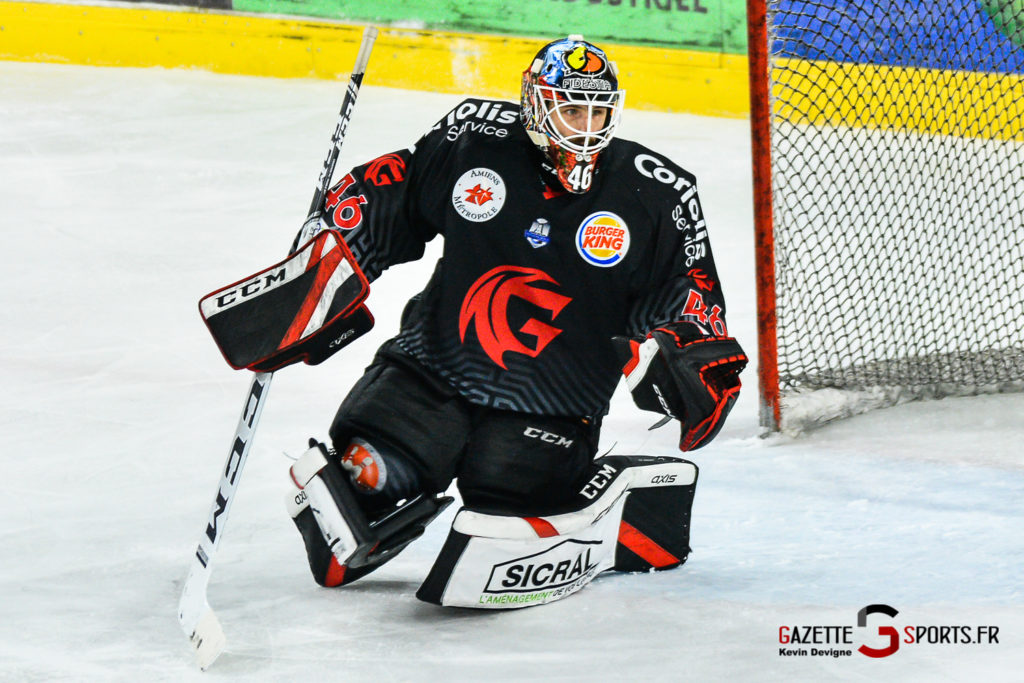 Hockey Sur Glace Amiens Vs Mulhouse J5 Kevin Devigne Gazettesports 101