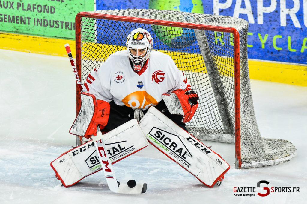 Hockey Sur Glace Amiens Vs Mulhouse J5 Kevin Devigne Gazettesports