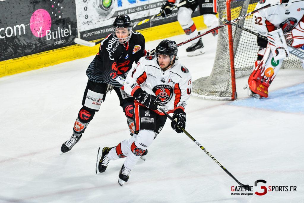 Hockey Sur Glace Amiens Vs Mulhouse J5 Kevin Devigne Gazettesports 105