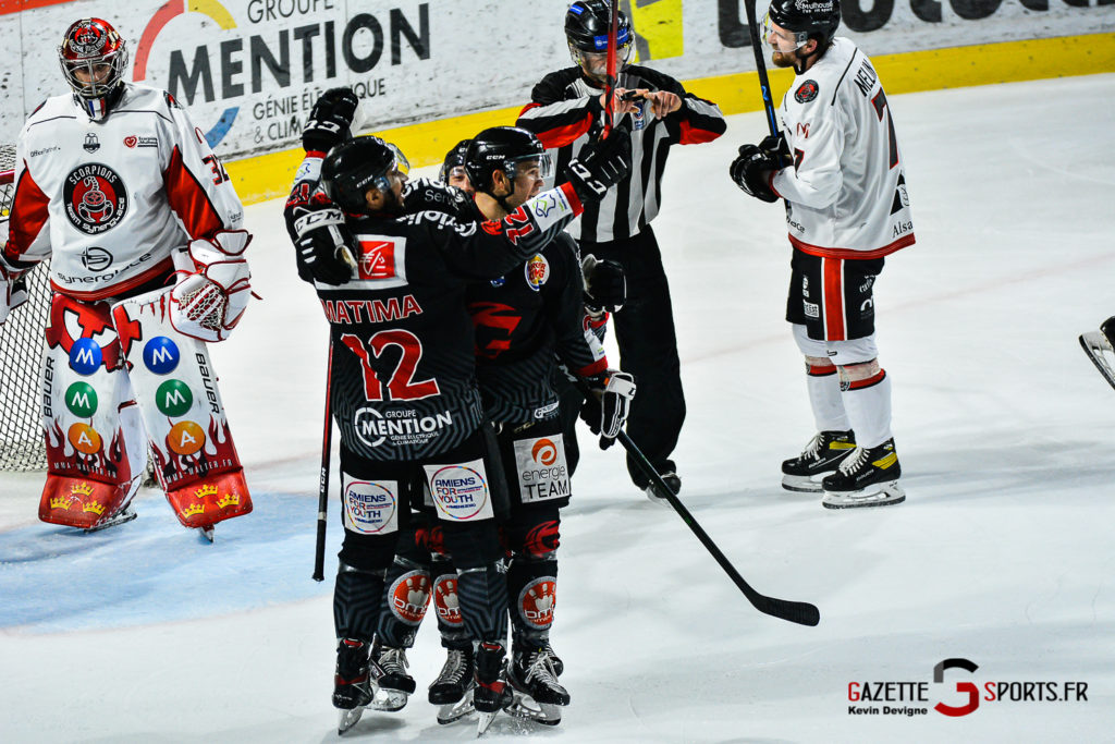 Hockey Sur Glace Amiens Vs Mulhouse J5 Kevin Devigne Gazettesports 113