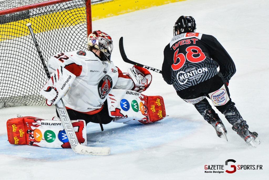 Hockey Sur Glace Amiens Vs Mulhouse J5 Kevin Devigne Gazettesports 123