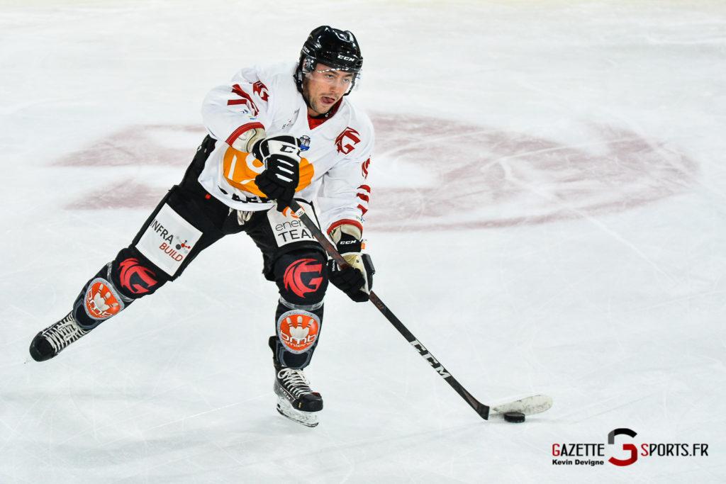Hockey Sur Glace Amiens Vs Mulhouse J5 Kevin Devigne Gazettesports 2