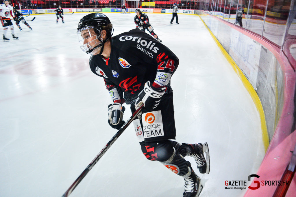 Hockey Sur Glace Amiens Vs Mulhouse J5 Kevin Devigne Gazettesports 23
