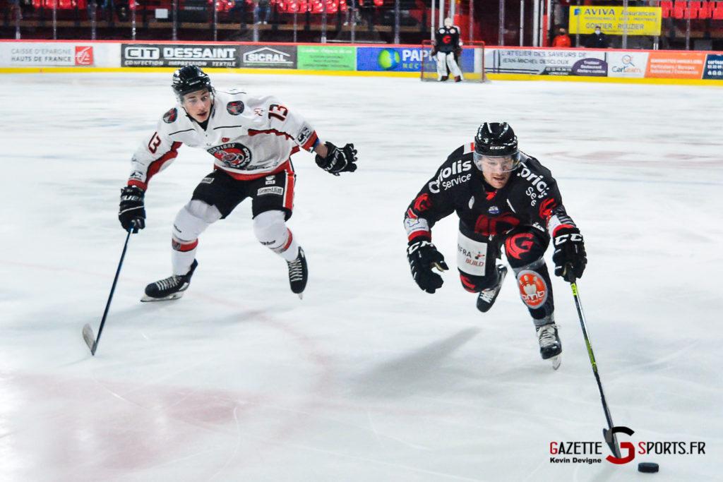 Hockey Sur Glace Amiens Vs Mulhouse J5 Kevin Devigne Gazettesports 24
