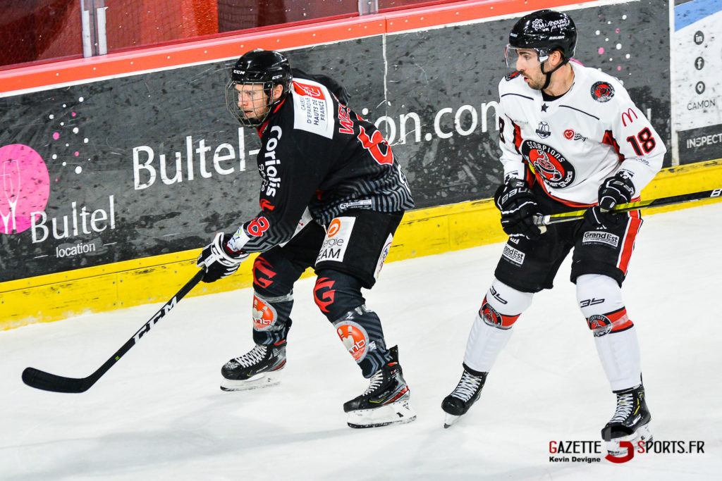 Hockey Sur Glace Amiens Vs Mulhouse J5 Kevin Devigne Gazettesports 51